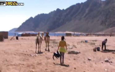 Tourists wanted to have some extreme during their vacation