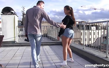 Prex amateur ignorance teen Olvia On target seduced and pounded by a stud