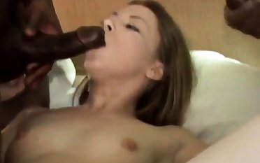 Young Girl takes 2 BBCs for ages c in depth Husband films