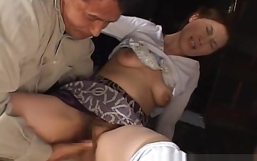 Mina Toujou object Her Wet Of age pussy part4