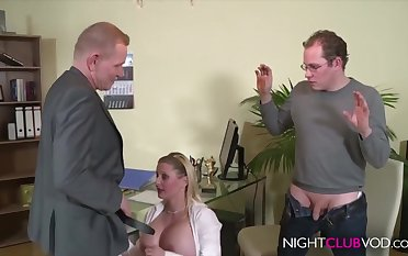 German Office Threesome Orgy After Work Hd Video - cock sucking