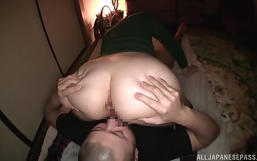 Impressive POV sex in hammer away middle of hammer away night