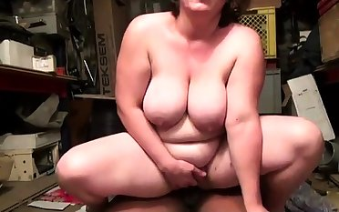 French BBw Florence gangbanged up a domicile basement